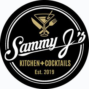 Sammy J's Kitchen + Cocktails logo