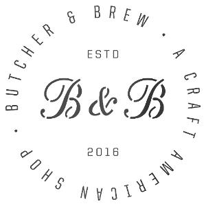 Butcher & Brew Halcyon logo