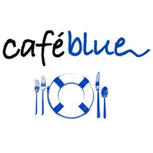 Cafe Blue at Hill Country Galleria logo