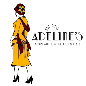 Adeline's Speakeasy Kitchen Bar logo