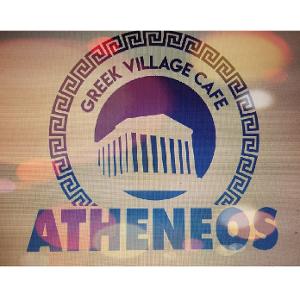 Atheneos Greek Village Cafe logo