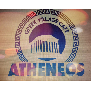 Atheneos Greek Village Cafe logo
