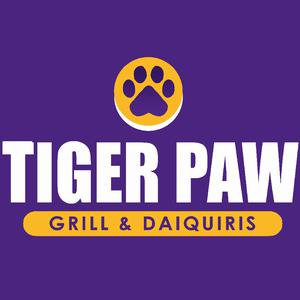 Tiger Paw Daiquiris and Grill logo