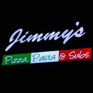 Jimmy's Pizza Pasta & Subs logo