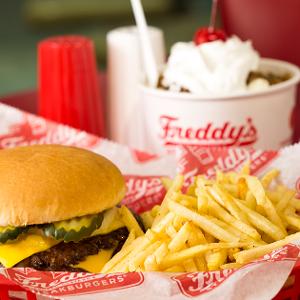 Freddys Frozen Custard and Steak Burgers logo