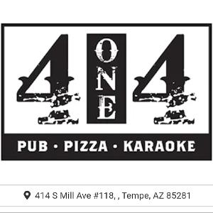 414 Pub & Pizza logo