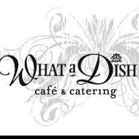What A Dish Cafe & Catering - It's All About The Cake Inc. logo