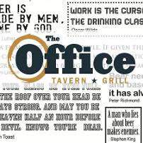 Office Tavern Grill logo