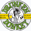Drunken Donkey Bar and Grill logo