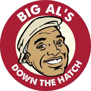 Big Al's Down The Hatch logo