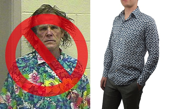 Print shirts don't have to be hideous