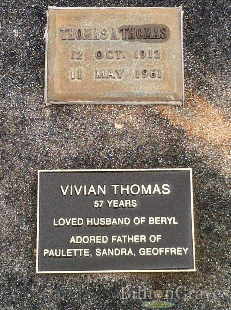 Vivien Thomas Grave