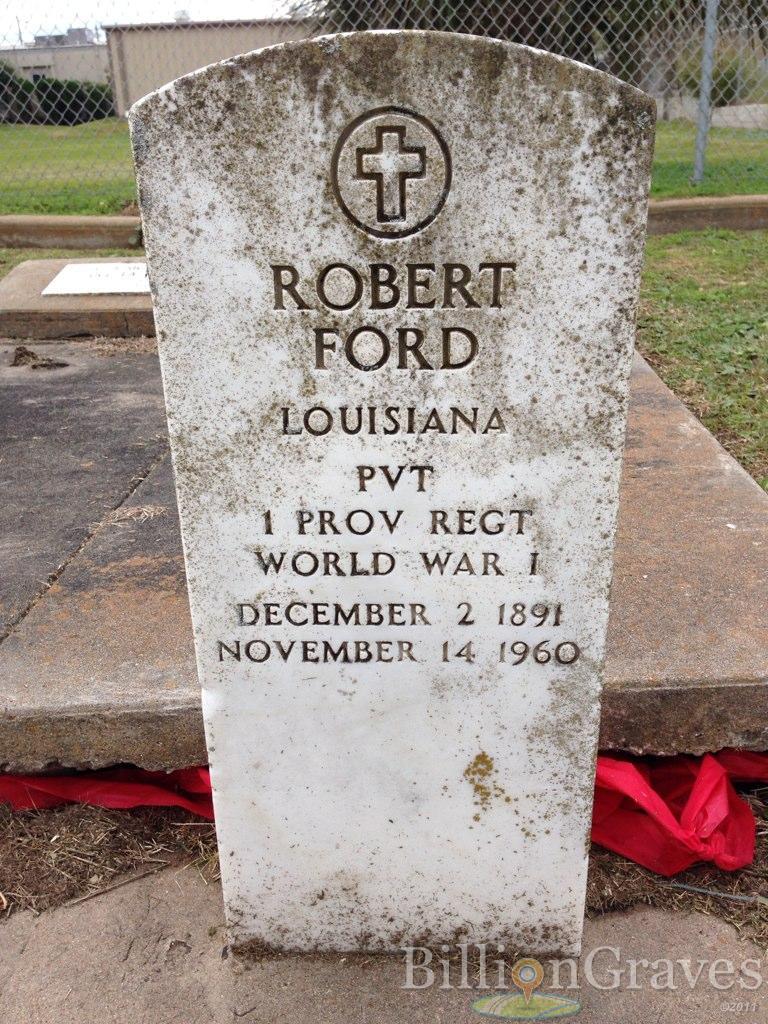 Grave Site Of Robert Ford 1891 1960 Billiongraves