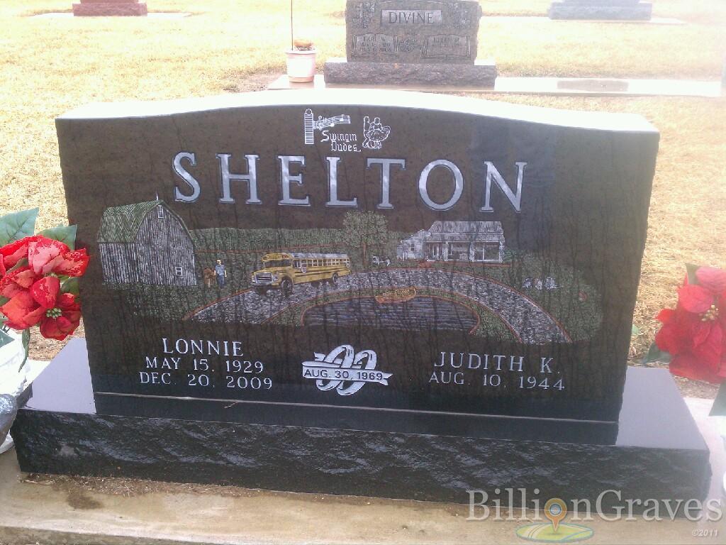 Lonnie Shelton 1929 2009 Grave Site