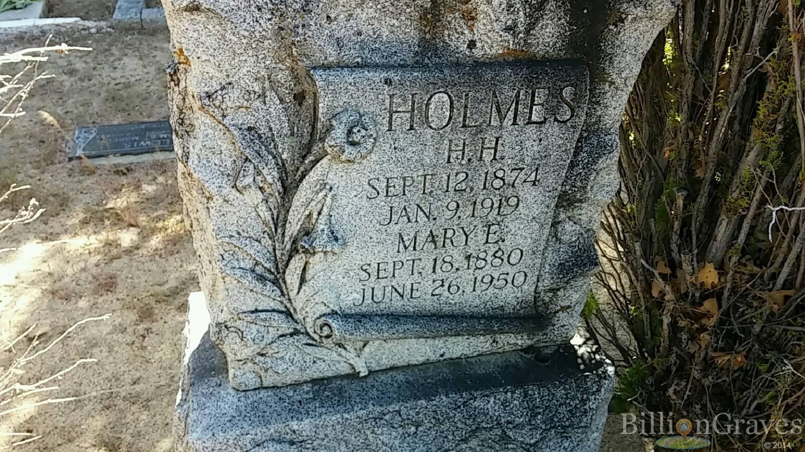 Herman Webster Mudgetts H H Holmes Grave  blogspotcom