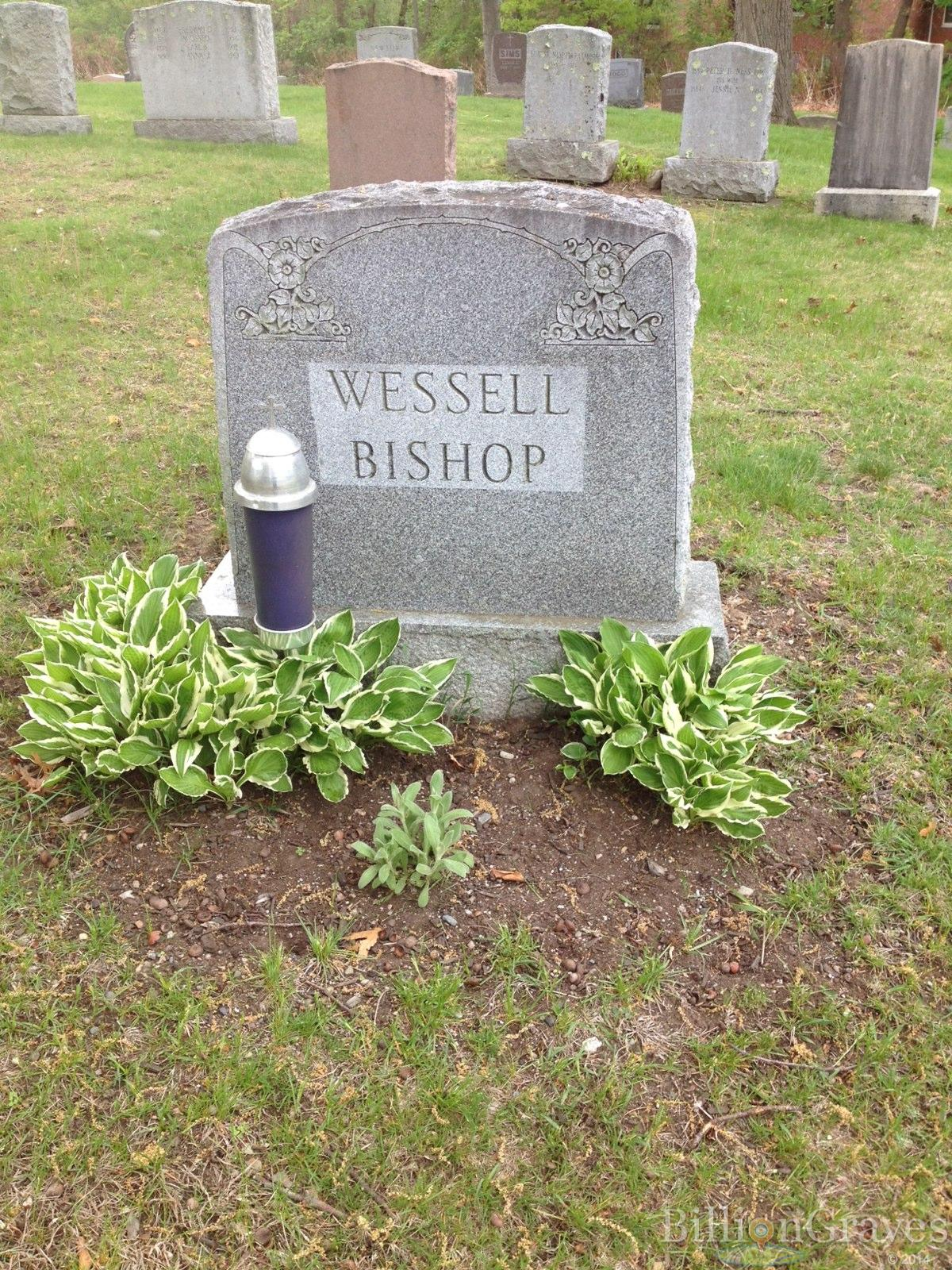 grave site of emily m wessell billiongraves headstone image of emily m wessell