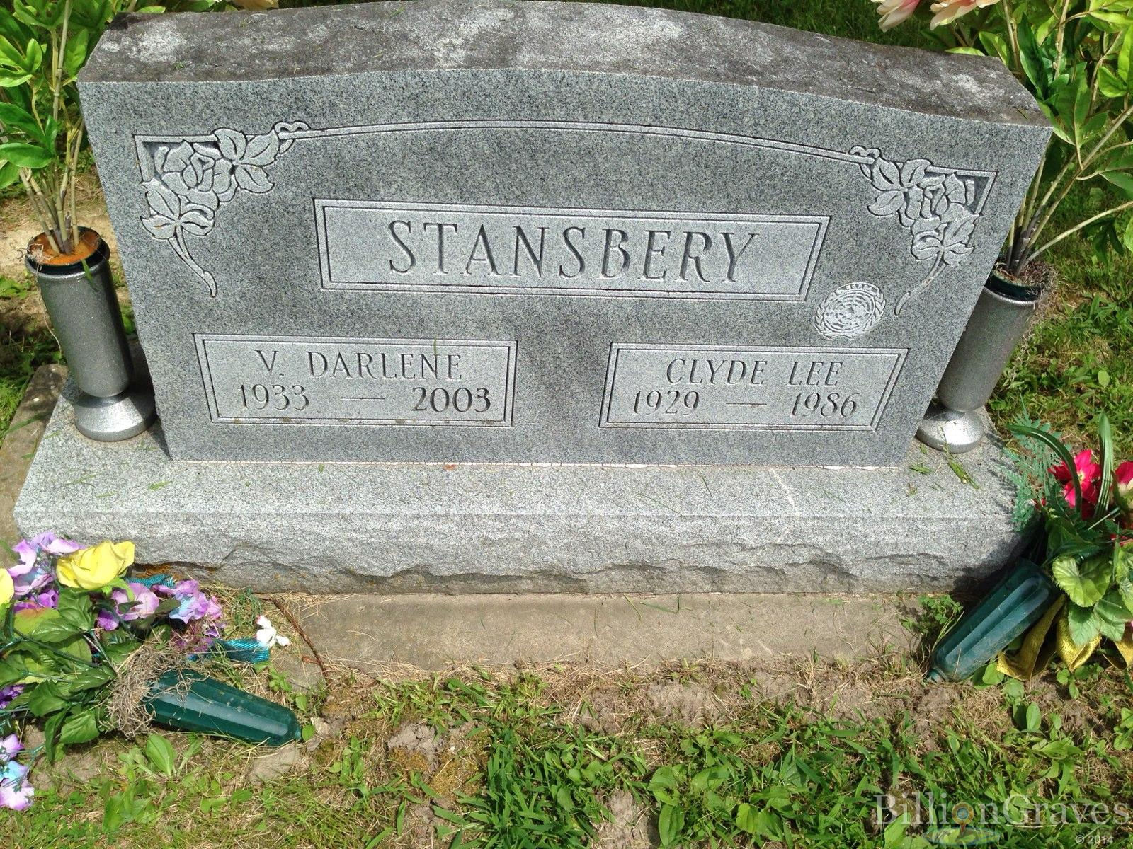 Clyde Lee Stansbery 1929 1986 Grave Site