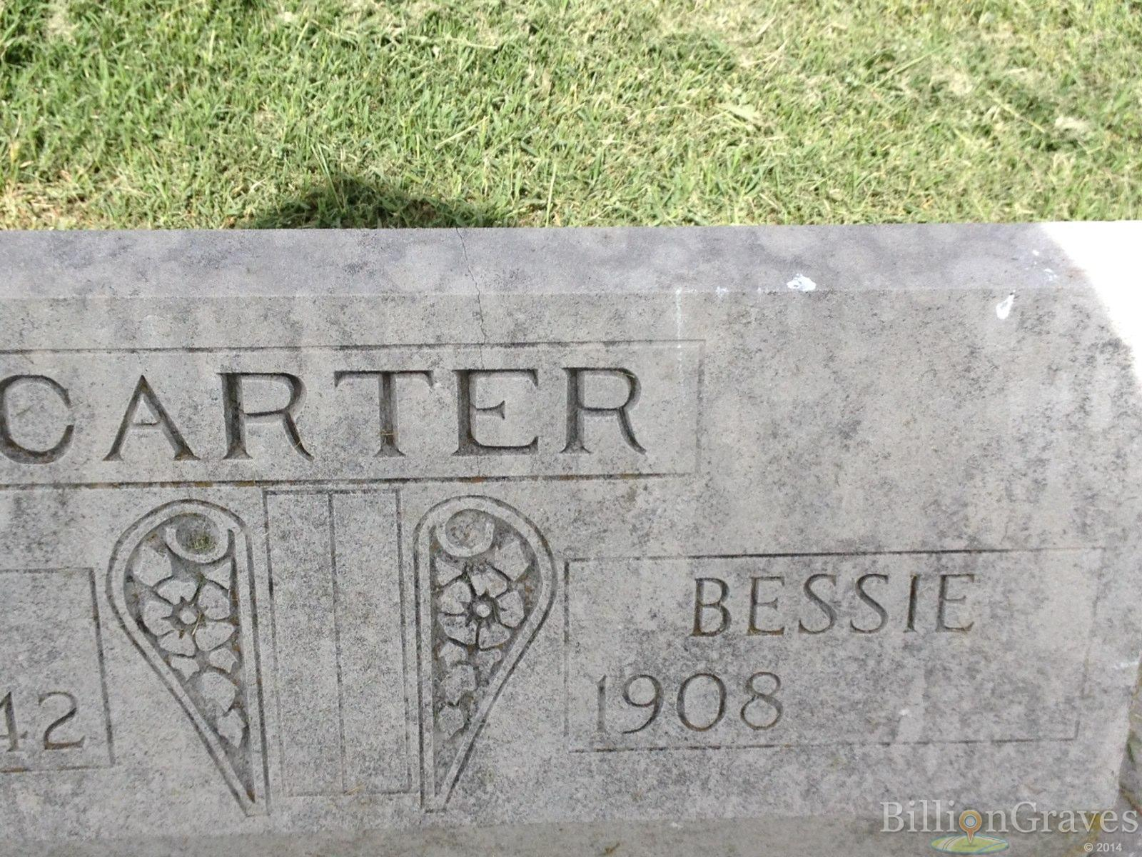 Fred Carter 1879 1942 Grave Site