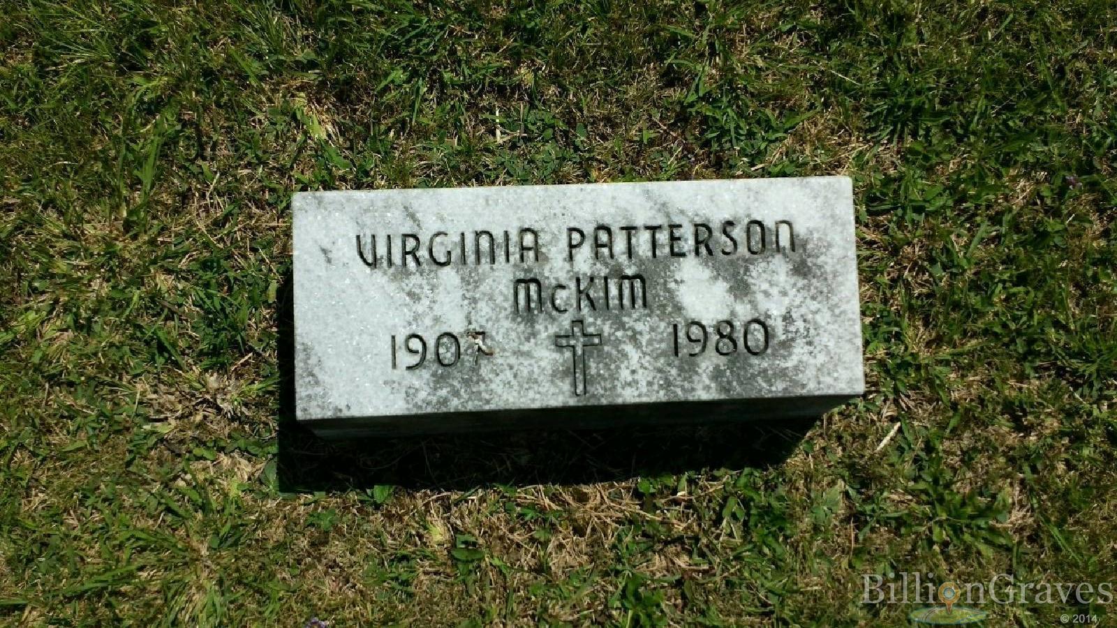 Clifford Ray McKim 1902 2002 Grave Site