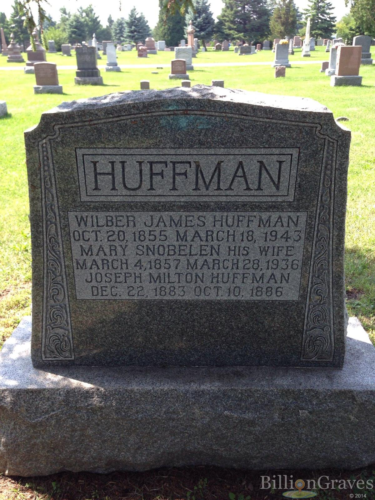Image result for headstone huffman