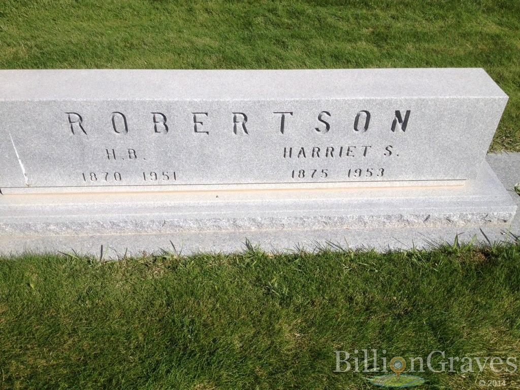 H B Robertson