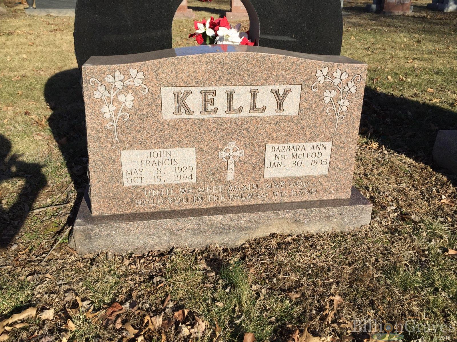 Grave Site of Barbara Ann Kelly (1933-) | BillionGraves