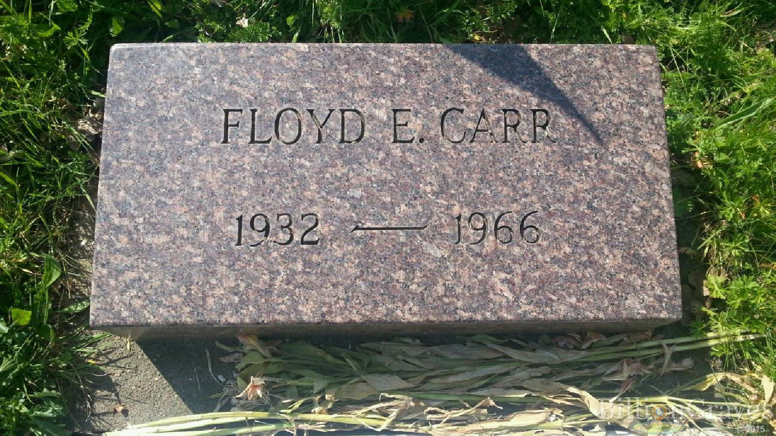 Clifford Ray Carr 1895 1967 Grave Site