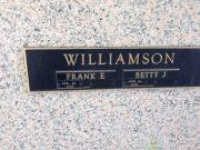 Frank E Williamson