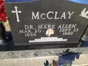 Dr Mark Allen McClay