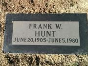 Frank W Hunt