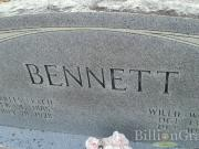 Willie Bennett (born Woodruff)
