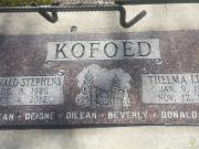 Thelma Kofoed (born Lloyd)