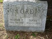 William Y Lord
