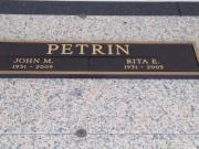 John M Petrin