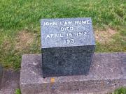#193 John Law Hume