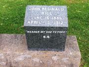 #64 John Reginald Rice