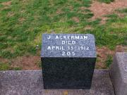 #205 Joseph Francis Ackerman