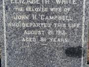 Elizabeth Campbell (born White)
