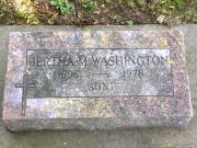 Bertha M Washington
