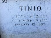 Col Jose M Tinio