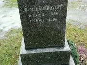 G M Lagerqvist