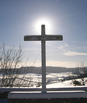 The cross, symbol of Lent