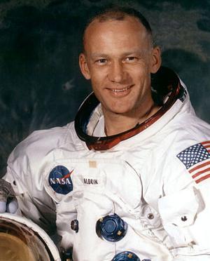 Astronaut Edwin 'Buzz' Aldrin