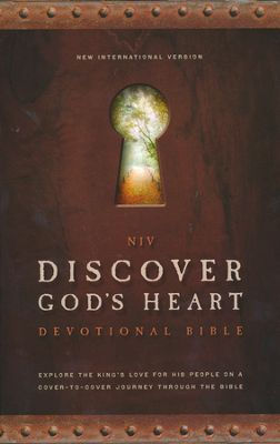 Click to buy your copy of NIV Discover God's Heart Devotional Bible in the Bible Gateway Store