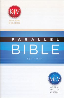Click to buy your copy of the KJV/MEV Parallel Bible in the Bible Gateway Store