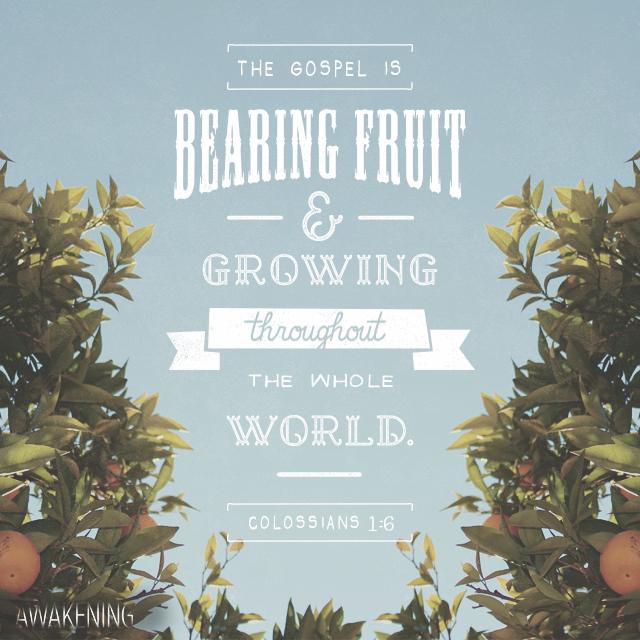 Colossians 1:6 on Bible Gateway