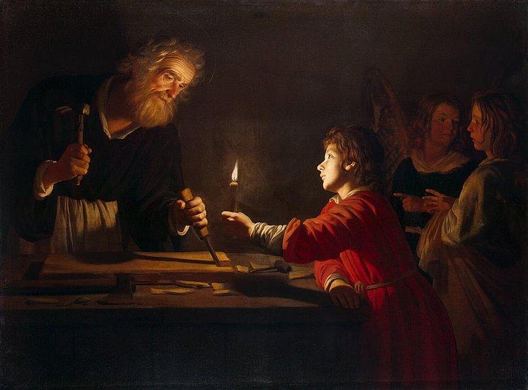 Gerrit van Honthorst, Childhood of Christ