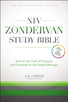 Click to browse the many available editions of the NIV Zondervan Study Bible in the Bible Gateway Store