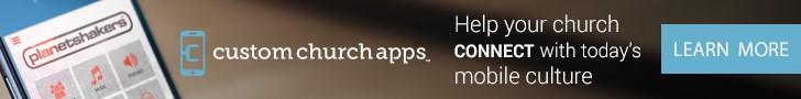 Custom Church Apps website