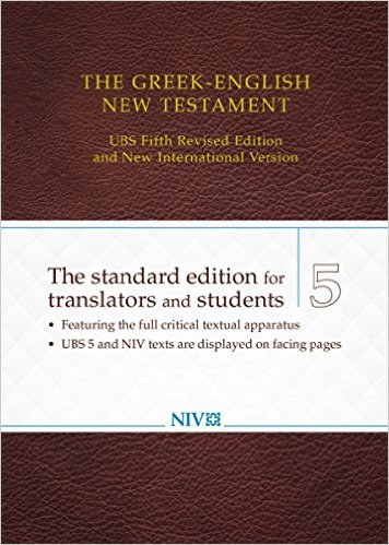 Click to buy your copy of The Greek-English New Testament: UBS 5th Revised Edition and NIV in the Bible Gateway Store